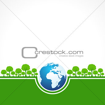 Save Nature Concept - World Environment Day