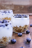 Delicious Kefir Yogurt Parfait