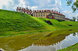 beautiful castle with a moat 1