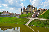 beautiful castle with a moat 2