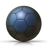 Black football - soccer ball