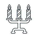 candlestick outline icon