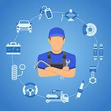 Car Services Concept