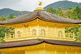 Top of golden pavilion