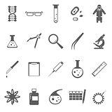 Genetic gray icons