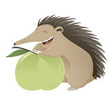 Cartoon hedgegog