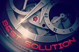 Best Solution on Luxury Men Pocket Watch Mechanism. 3D.