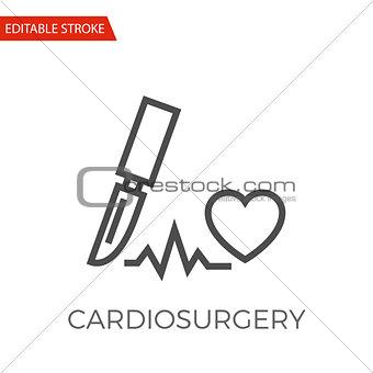 Cardio Surgery Vector Icon