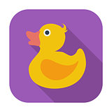 Duck flat icon