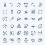 Line Space Icons