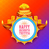 Akshay Tritiya religious festival of India celebration