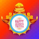Akshay Tritiya religious festival of India celebration