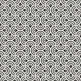 Seamless abstract hand drawn pattern. Vector freehand lines background texture. Ink brush strokes geometric design.