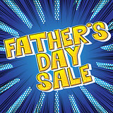 Father's day Sale poster.