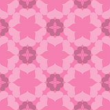Seamless abstract art pink pattern