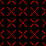 Seamless abstract grid black pattern