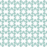 Seamless pattern with snowflakes on white