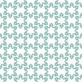 Seamless pattern with snowflakes on white