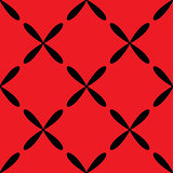 Seamless abstract vintage red pattern