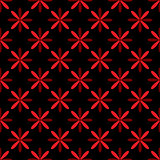 Seamless abstract vintage black pattern