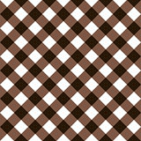 Squares textile seamless pattern brown colors