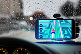 navigator in car