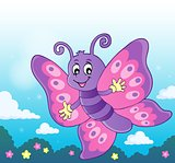 Happy butterfly topic image 7