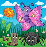 Spring animals and insect theme image 7