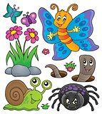 Spring animals and insect theme set 4