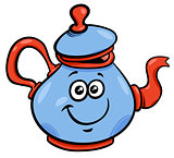 teapot or kettle cartoon character