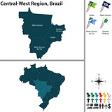 Central West Region of Brazil