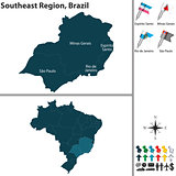 Southeast Region of Brazil