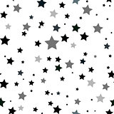 Abstract beauty star Seamless Pattern background. Illustration