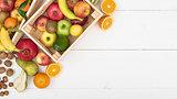 Fresh tasty fruit