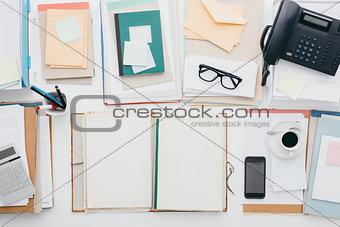 Business office desktop