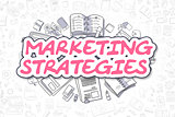 Marketing Strategies - Business Concept.