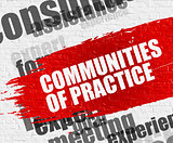 Communities Of Practice on Brickwall.