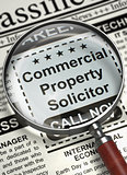 We are Hiring Commercial Property Solicitor. 3D.