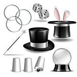 Magician symbol set