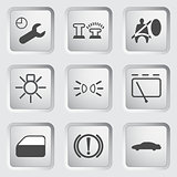 Car Dashboard icons 3