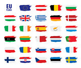 flags of the european union
