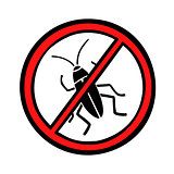 pest control cockroaches icon symbol