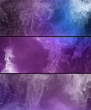 Paint spill abstract background