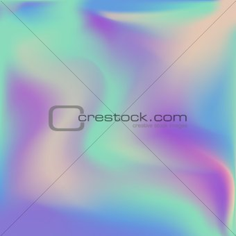 Abstract vector  holographic background.