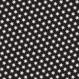 Trendy Texture With Scattered Geometric Shapes. Vector Seamless Pattern.