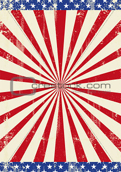 American old sunbeam background