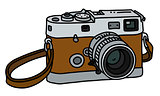 The retro photographic camera