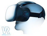 Virtual Reality Glasses Headset