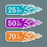 Vector hot sale labels