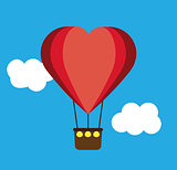 Heart Shape Air Balloon